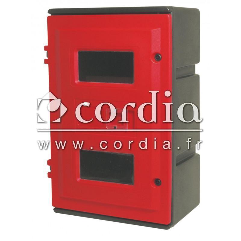 armoires cl protection des extincteurs armoires incendie cordia. Black Bedroom Furniture Sets. Home Design Ideas