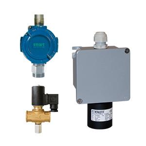 Détecteurs de gaz pour centrale multifonctions