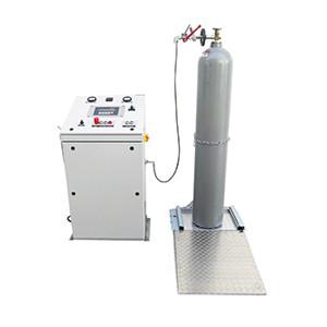Systèmes de remplissage CO2 haute pression pour extincteurs