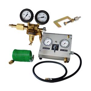 Systèmes de remplissage azote pour extincteurs à pression permanente