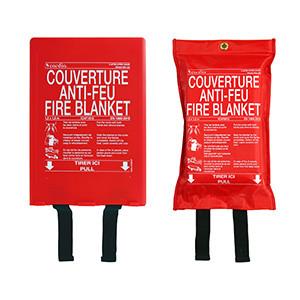 Couvertures anti–feu