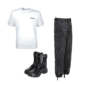 Vêtements agents de sécurité