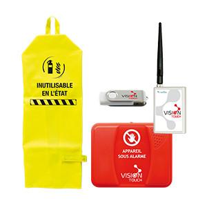 Protection des équipements de sécurité