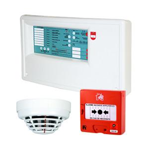 Équipement d'alarme de type 1 conventionnel 8 zones